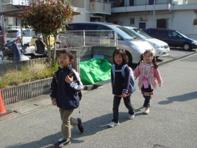 2009.4.6 学童初登校