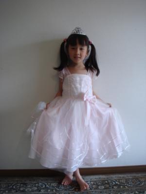 2009.4.8 お姫様ごっこ2