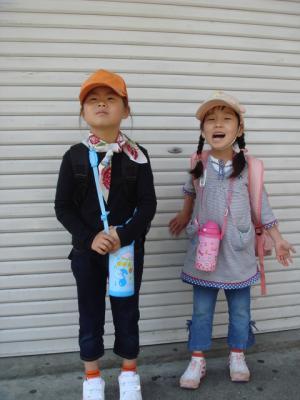 2009.4.19 ガールスカウト体験1