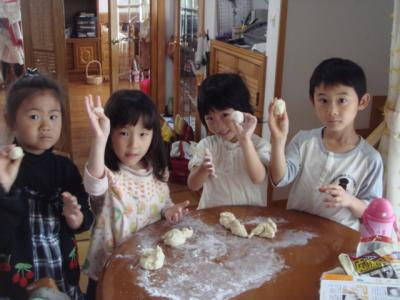2009.4.29  パン作り