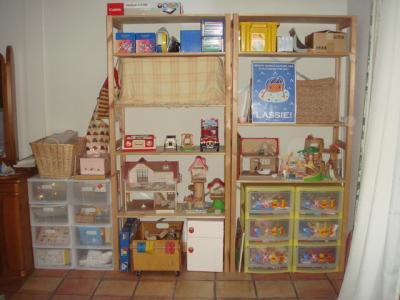 2009.6 のどかのおもちゃ棚