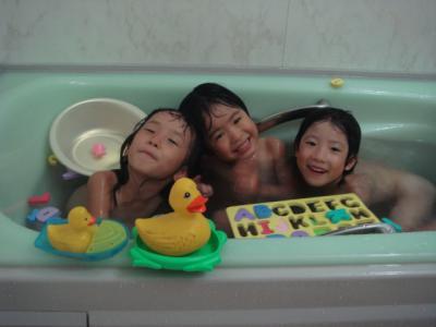 2009.8 お友達お泊り①