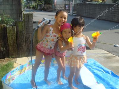 2009.8 おうちプール