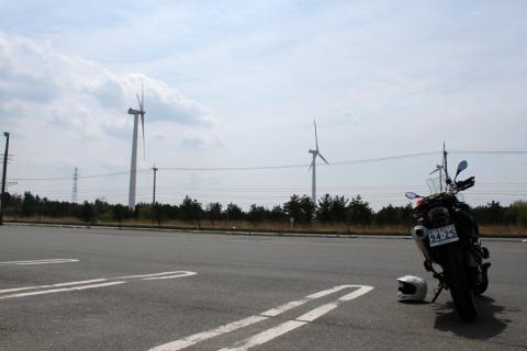 六ヶ所村の風車群