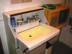 A寝台洗面台