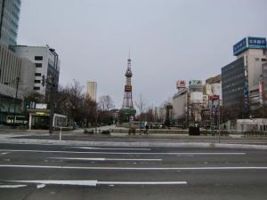 ある日の大通公園