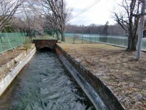 王子製紙水力系発電所