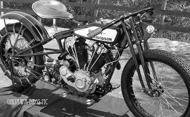 Harley Davidson Hillclimber
