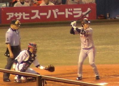 巨人#7長野選手