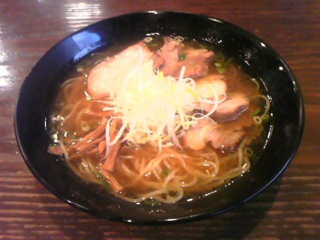 肉醤油チャーシュー麺