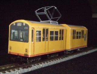 三岐鉄道270形電車ショーティペーパークラフト