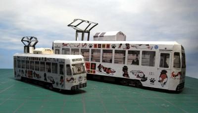 おかでん版たま電車HOバージョン(比較)