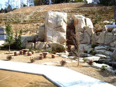 正修寺の滝