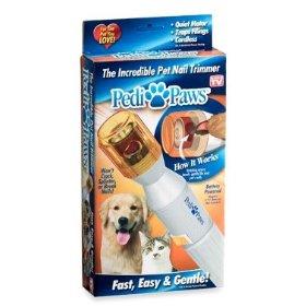【電動爪切り】PediPaws ペットの爪の自動ケアグッズ ペディパウ 取替やすり3個つき
