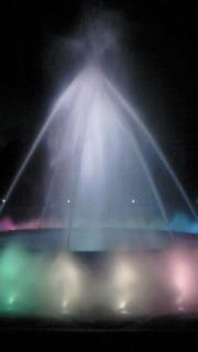 噴水ジェット白