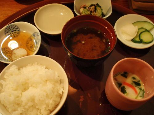 ミックス天ぷら定食