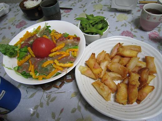 完熟ゴーヤのサラダ