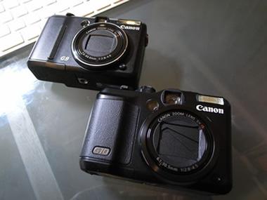 サラリーマンの趣味日記 Canon PowerShot G10
