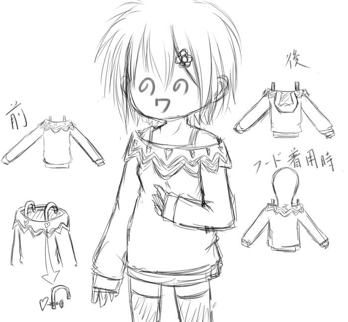春の新作シャボコ服