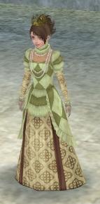 功労者のドレス