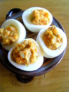 明太子なゆで卵