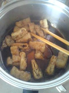 豚バラのおろし煮