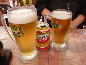 ギリシャでビール