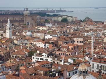 ヴェネチア一望
