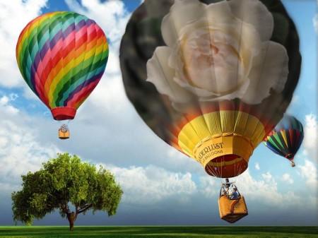 気球にのって~