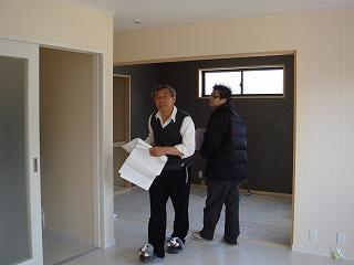 屋上リビングの家120403b