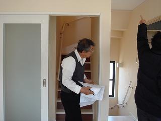 屋上リビングの家120403d