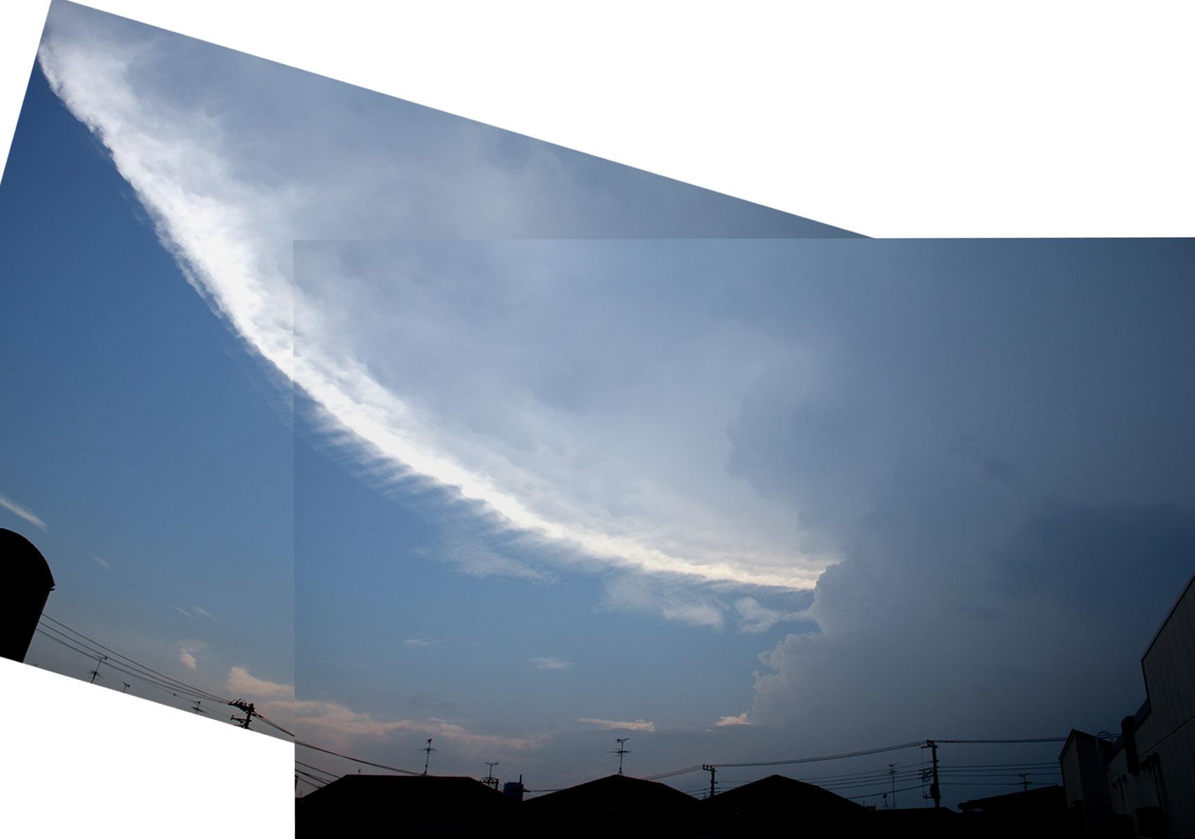 ④ダイナミックな空模様 14時29分