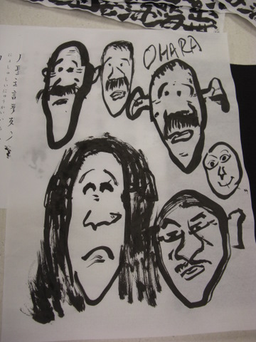 夕焼け・マリア様・写経の会 1-9-12 015
