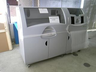 搬入された3Dプリンター  Z-PRINTER650