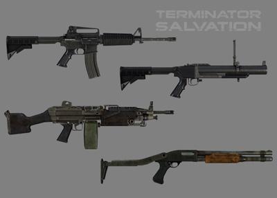 ターミネーター武器