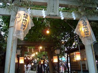 3丁目の本氷川神社