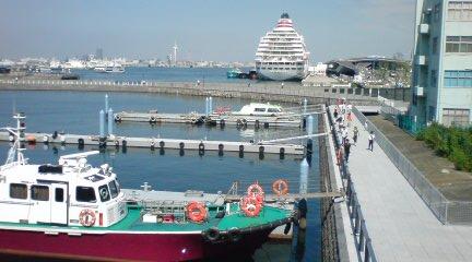 ヨコハマ港の今
