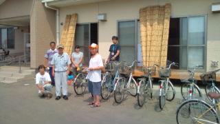 7月16日 自転車1