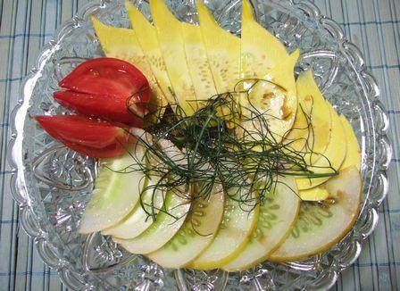 野菜のカルパッチョ