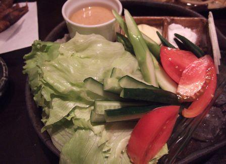 生野菜いろいろ