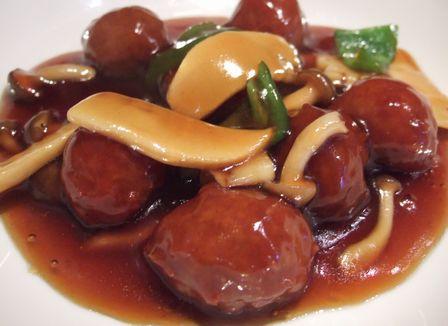 肉団子の甘酢炒め