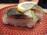 鯵の箱寿司