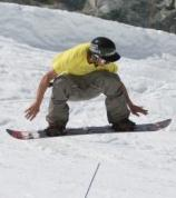 upper body down motion