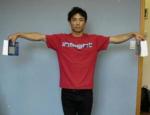 shoulder arm raise to side -3