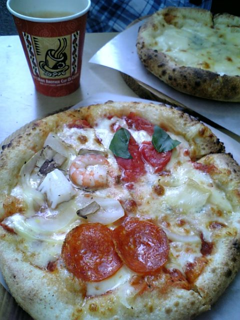 上野動物園のピザ1