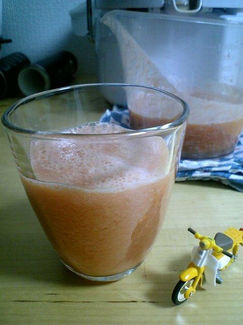 スタイルプラスパワージューサー トマトジュース