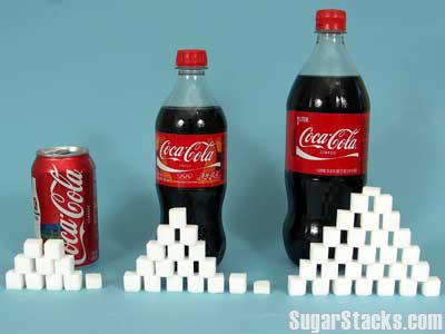 コーラの砂糖