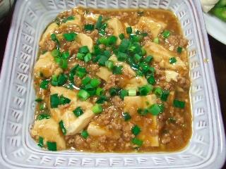麻婆豆腐0501