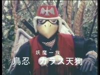 鳥忍 カラス天狗(世界忍者戦ジライヤ)