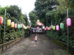 白山神社祭り